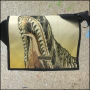 Mustertasche - Messenger Bag Berlin Dino