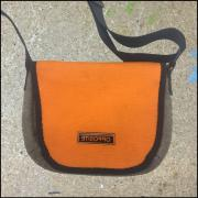 Mustertasche Perfekt mini Filz orange